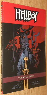 Hellboy: The Wild Hunt Trade Paperback, Mike Mignola, New Movie