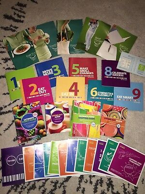 Weight Watchers Large Pack, Points Finder, Shopping Eating Out Guide, Weeklybook
