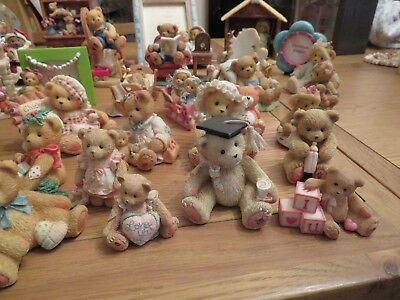 Complete collection of Cherished Teddies