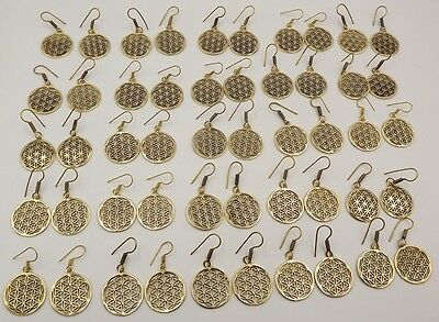 25 Pcs. Lot Very Attractive 925 Solid Brass Gorgeous Unique Earring KA7430