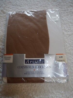 Vintage Aristoc Cotswold Stockings Allure 60 Denier Shoe Size 7-8 Large 101/2-11