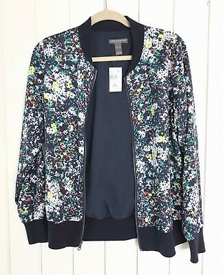 Pea In The Pod Floral Maternity Jacket Size Small
