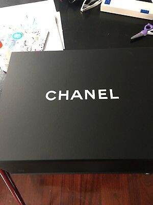 Chanel Empty Purse Handbag magnetic Box Tissue Paper Bag Ribbon
