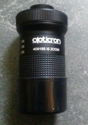Opticron 40918S Zoom Eyepiece IS50:15-45x / IS60:18-54x / IS70:20-60x