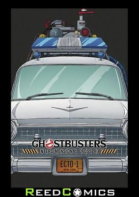 GHOSTBUSTERS INTERDIMENSIONAL CROSS-RIP HARDCOVER New Hardback (380 Pages)