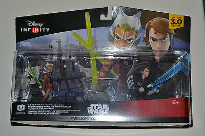Disney Infinity 3.0 Star Wars Twilight Of The Republic Playset, Brand New