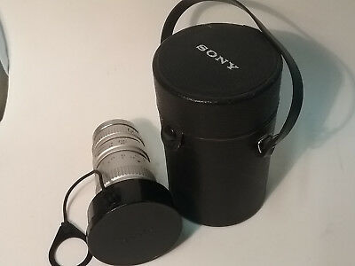 Vintage Sony TV Zoom Lens No:190231 F=16-64mm 1:2 Japan Excellent Condition
