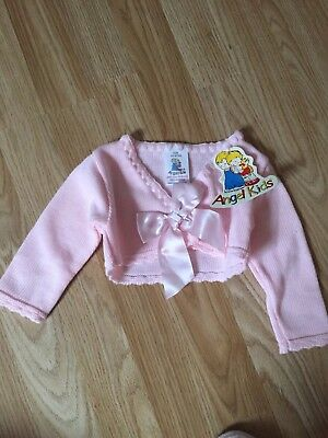 Baby Girls Spanish Cardigan 3-6 Bnwt