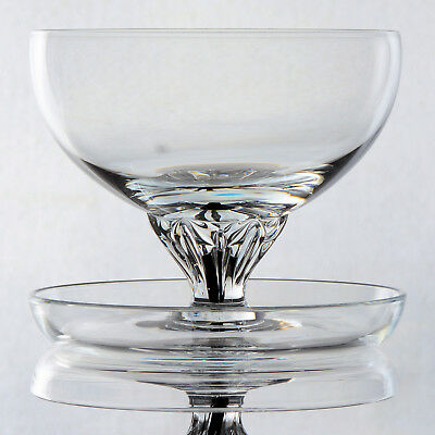 """Set Of 6  Belfor Crystal """"exquisite"""" - Footed Dessert Bowls/dishes"""