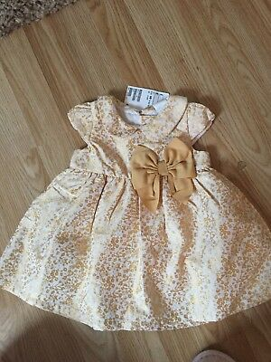 H M Baby Dress 4-6 Months Bnwt Party Christmas