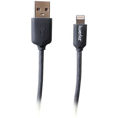 4 Ft Braided Lightning® To USB Cable Apple Compatible Devices & MFi Certified
