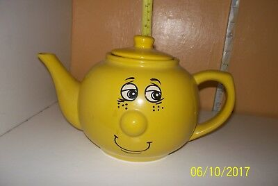 Funny Face Expressions Ceramic Teapot   Trade Winds