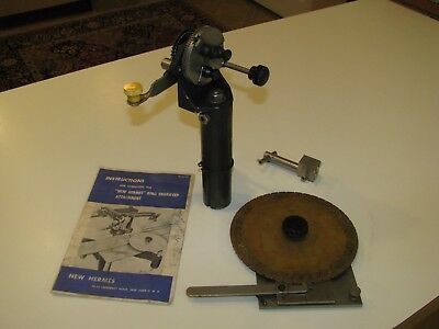 New Hermes Engravograph Engraving Machine Ring Engraver Attachment Jewelers Tool
