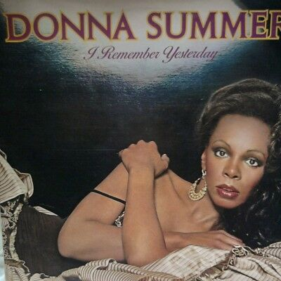 DONNA SUMMER: I REMEMBER YESTERDAY - vynal LP