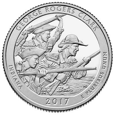 2017 - George Rogers Clark National Historical Park - Bu Quarters - 2 Coin Set