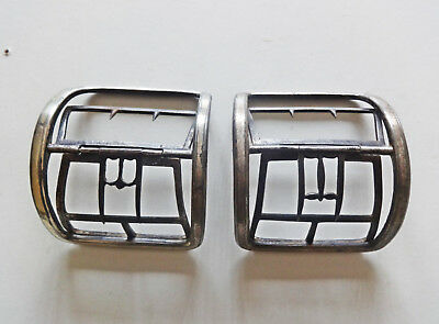 Large Pair of Metal Georgian Shoe buckles + one other