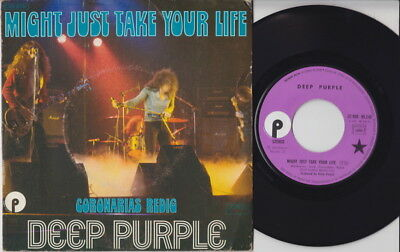 DEEP PURPLE * Might Just Take * French 45 * 1974 HARD ROCK