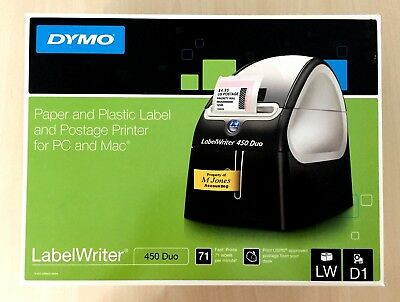 Dymo LabelWriter 450 Duo  for PC and Mac BRAND NEW IN BOX