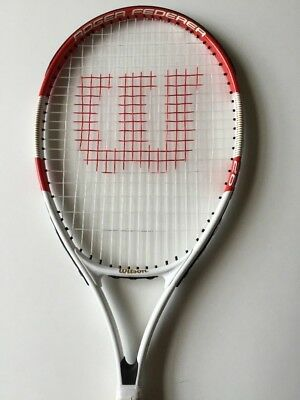Wilson Roger Federer 26 Junior Tennis Racket and Case