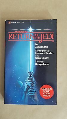 Vintage Return Of The Jedi Paper Back Book First Edition