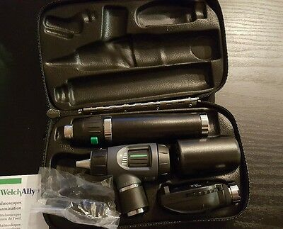 Welch Allyn Otoscope / Opthalomscope Diagnostic Set Item# 97200-MS New
