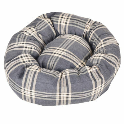 Tartan - Donut Pet Beds. 4 Colours & 4 Colors Comfortable Dog Bed, Great Seller,