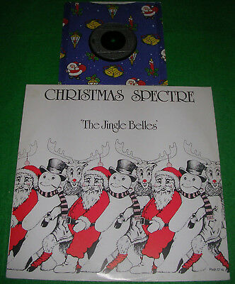 """Christmas spectre the jingle belles 12"""" & Christmas rapping 7"""" dizzy heights"""