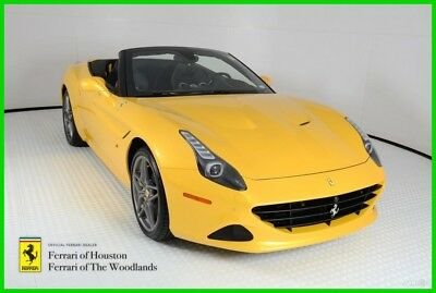 2016 Ferrari California T 2016 Ferrari California T, Triple Stage Pearl Yellow, $319,002 MSRP, 748 MILES