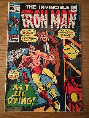 The Invincible Iron Man #37 May 1971