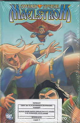 SUPERMAN / SUPERGIRL: MAELSTROM (deutsch) HC / VARIANT - COMIC ACTION 2011 - OVP