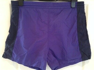 Vintage St Michael Mens Swim Shorts Size Small Rich Blues Great Condition