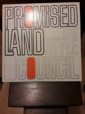 """The Style Council. Promised Land. Original 12"""" Vinyl. Pic Sleeve. Tscx 17"""