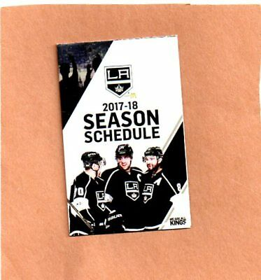 2017-18 Los Angeles Kings Pocket Schedule
