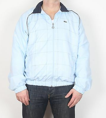 """Lacoste Tracksuit Track Top Medium Large 42"""" Blue (KCD)"""