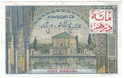 Morocco 10000 10.000 Francs 1955 Pick 52 Look Scans