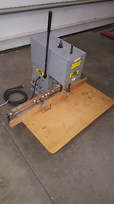 Super Speed Model TM-100 Table Top Paper Drill Single Spindle 120v - Free Ship!