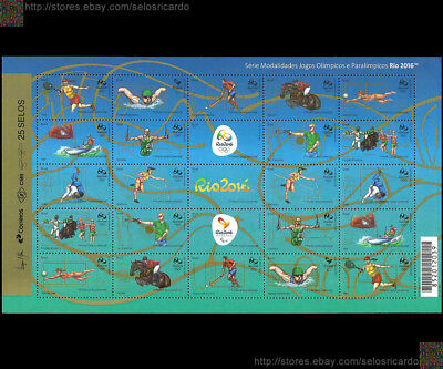 Olympic and Paralympic Games Rio 2016 olympialaiset 奥运会 Олимпийские Olympische