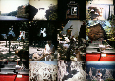 550ft 8mm Home Movies w/vacation across Middle America