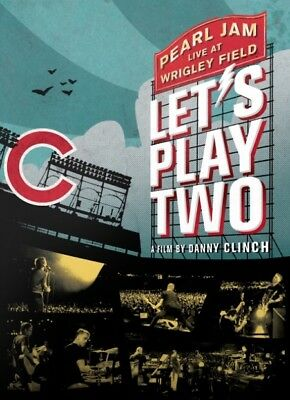 Let's Play Two Pearl Jam Theatrical Poster 27 x 40 ORIGINAL perfect condition