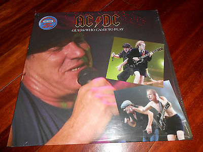 AC/DC – Guess Who Came to Play  Numbered, Unofficial Release, Blue Vinyl