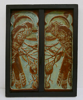 CALCO Raven Tile Set Framed California Clay Products