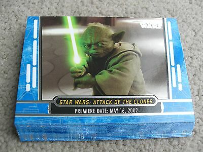 Topps Star Wars 40th anniversary Blue parallel card lot (12 different)