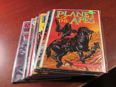 Lot of 18 Different Planet of the Apes #2-24 Adventure Comics Hard to Find Run