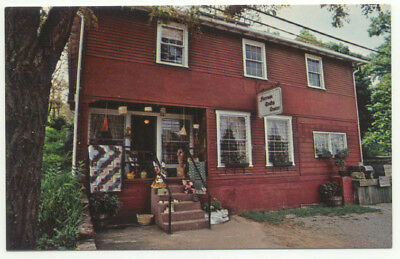 Ferrum VA Craft Shop Vintage Postcard - Virginia
