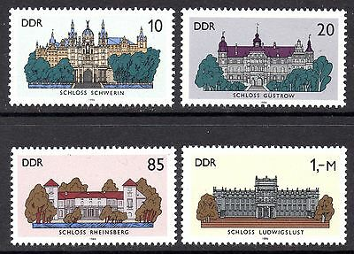 DDR. 1986. CASTLES 3rd SET. MINT. MNH. SEE PIC. CAT £4.25 ONLY 99p   B0898