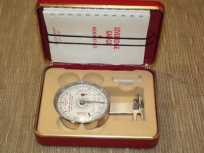 Micromat Diamond Gauge, High Setting Attachment comes with case and book