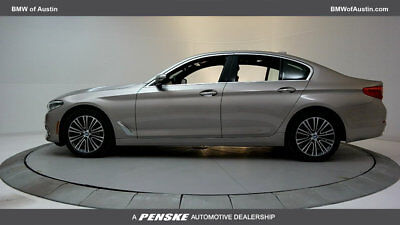 2017 BMW 5-Series 540i 540i 5 Series New 4 dr Sedan Automatic Gasoline 3.0L STRAIGHT 6 Cyl Cashmere Sil