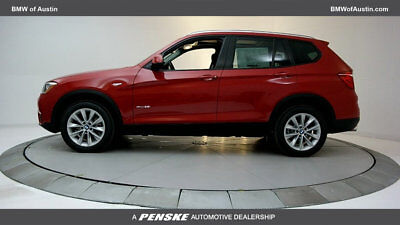 2017 BMW X3 sDrive28i sDrive28i New 4 dr Automatic Gasoline 2.0L 4 Cyl Melbourne Red Metallic