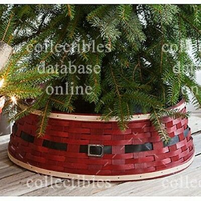 Longaberger 2015 Santa Belly ~ Tree Skirt