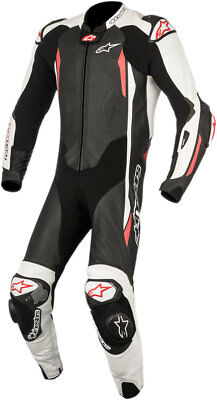 Alpinestars GP TECH v2 Leather Riding Suit Tech-Air Compatible (Black/White/Red)